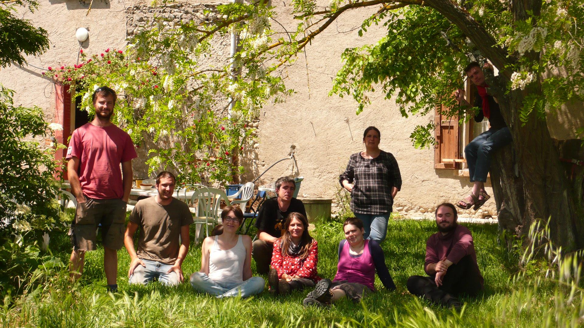 Habitat groupé - l'An 01 à Cazères